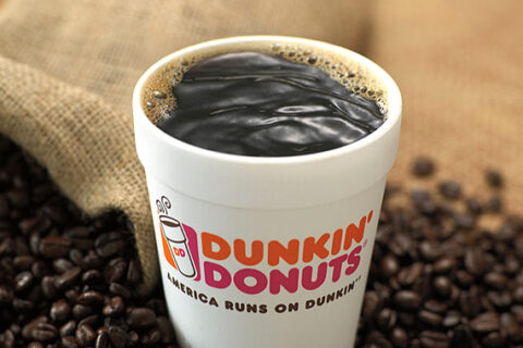 Coopération nationale avec Dunkin' Donuts